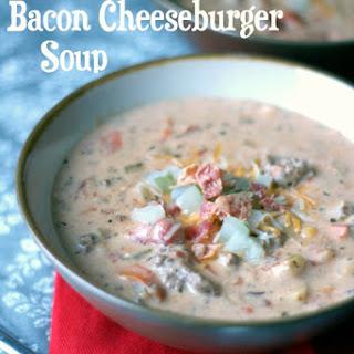 Crockpot Bacon Cheeseburger Soup.