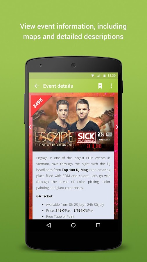 TicketBox- screenshot