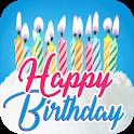 Happy Birthday Cards App icon