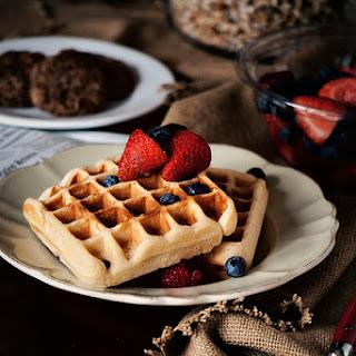 Belgian-Style Yeast Waffles.