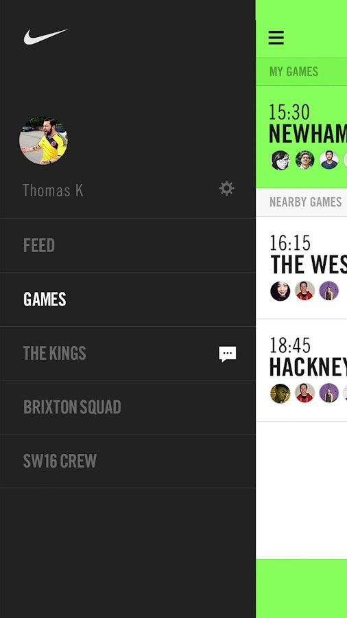 Nike Soccer- screenshot