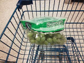Photo: The grapes were on sale, so my wife should be happy!