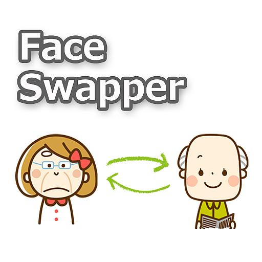 FaceSwapper Sample 程式庫與試用程式 LOGO-玩APPs