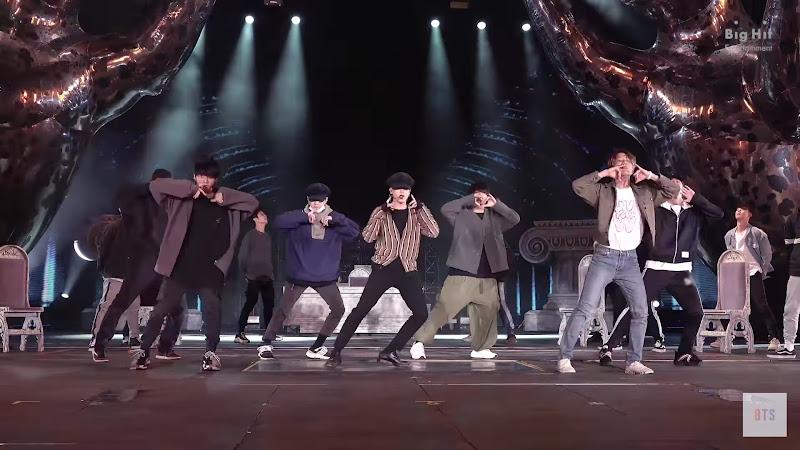 BTS FESTA 2020 Dionysus Choreography Video 1