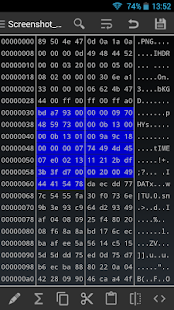 HEX Editor Screenshot