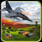 Modern Air Jet Fighter Strike Icon
