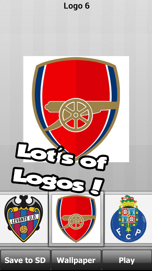 Football: logo puzzle quiz- screenshot