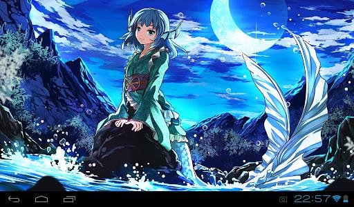 Mermaid HD Live Wallpaper