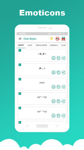 Chat Styles: Cool Font & Stylish Text for WhatsApp 7.1 Screenshots 7