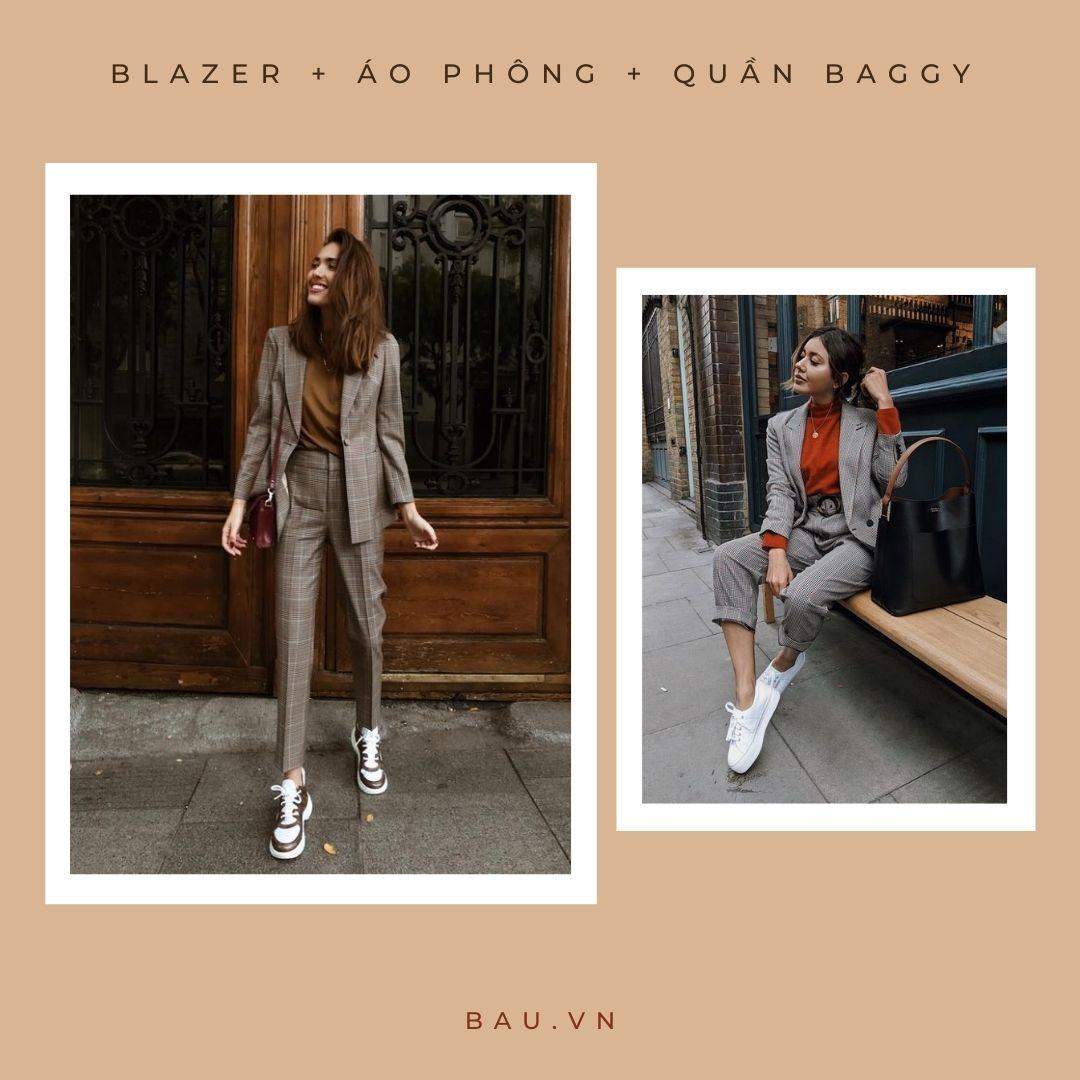 6 outfit kết hợp với blazer cho các nàng trở nên sang - xịn - mịn - ảnh 4