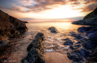 Photo: Dreamscape, Combesgate beach in North Devon again, taken back in 2009 when I was experimenting with HDR, I need to go back.