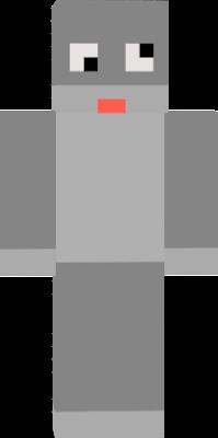 Boti skine ez egy youtuber skine de megvan minecraftosítva (logórol)