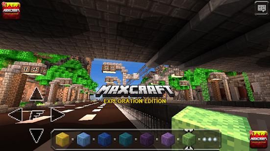 MaxCraft Crafting Adventure & Building Games Screenshot
