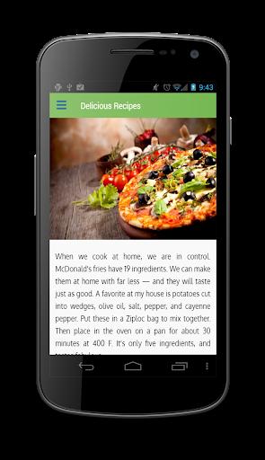 Delicious Recipe  screenshots 4