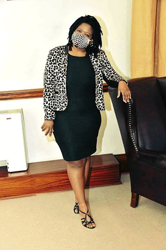 Newly appointed ANC's national youth task team leader Nonceba Mhlauli
