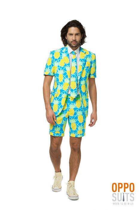 shineapple opposuit sommar ananas kostym
