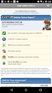 CARFAX for Dealers Screenshot 4