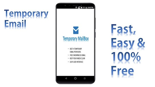 Temp Mailbox – Anonymous, Temporary & Disposable App Download For Android 1