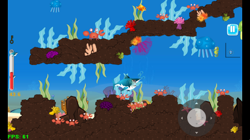 Shark Journey - Feed and Grow Fish Game filehippodl screenshot 4