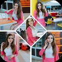 Photo Collage Maker -Picmix- Beauty Selfie Camera icon