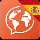 西班牙语:交互式对话 - 学习讲 -门语言 icon