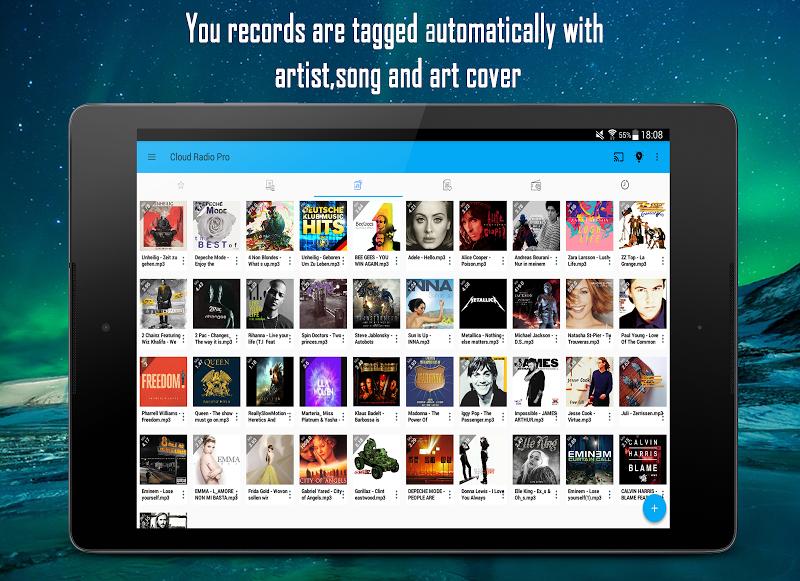 Cloud Radio Pro - Record , Lyrics & Music Screenshot 11