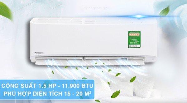 Máy lạnh Panasonic Inverter 1.5 HP CU/CS-XPU12XKH-8
