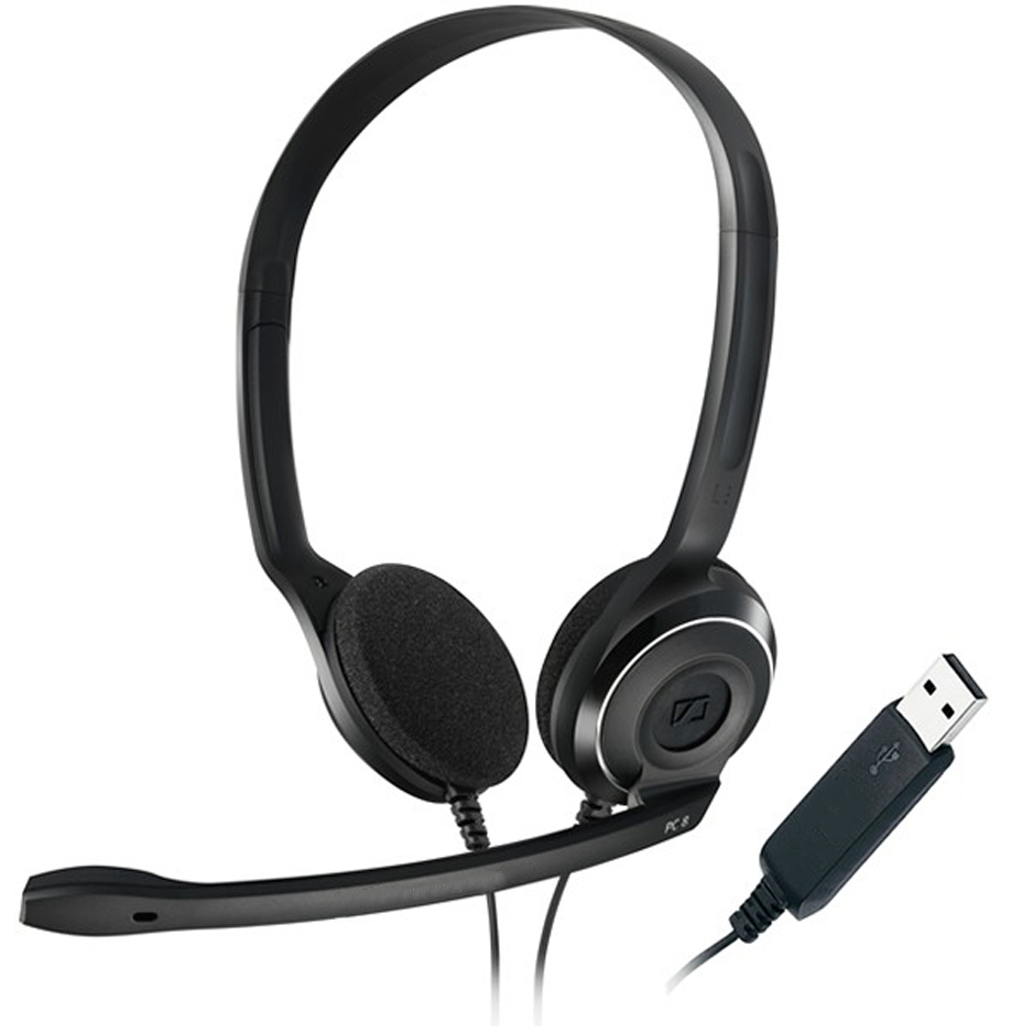 Loại tai nghe tổng đài viên có giắc cắm USB