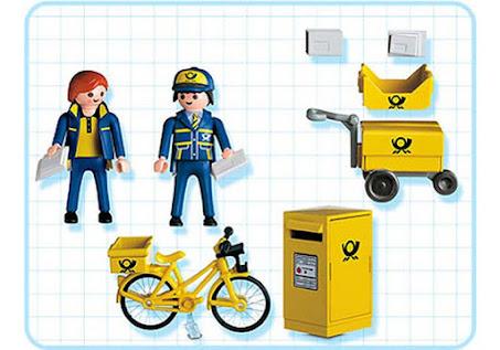 Contenido real de Playmobil® 4403 Equipo de Carteros