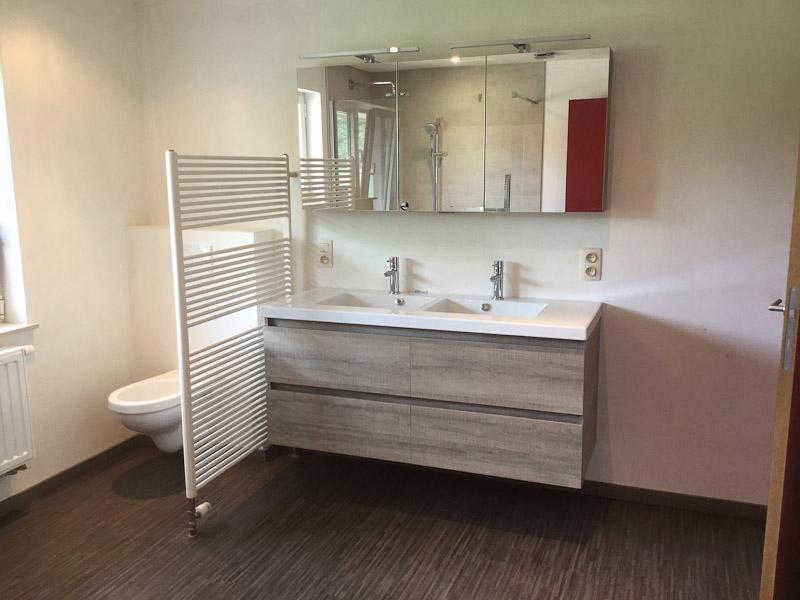 Renovatie badkamer