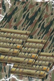 Army Keyboard Theme - náhled