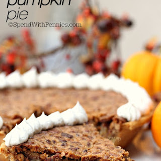Pecan Pumpkin Pie.