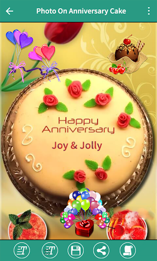 Download Name On Anniversary Cake Photo Frame On PC U0026 Mac With AppKiwi APK  Downloader