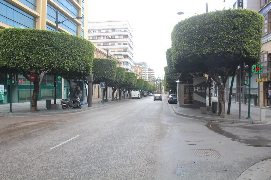 Paseo de Almería.