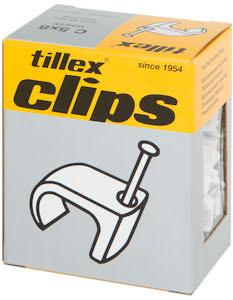 Tillex Clips Ovala ledningar