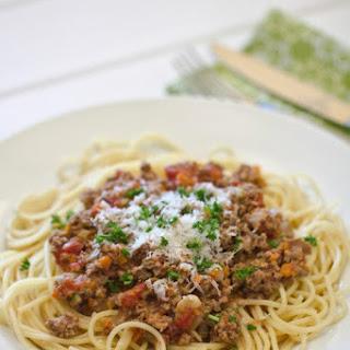 Spaghetti Meat Sauce