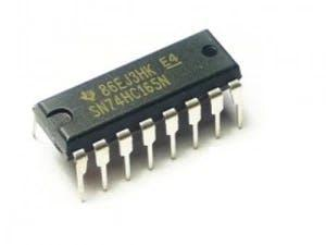 74HC165 Parallel in, Serial Out Shift Register