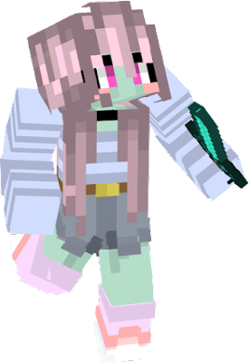 This is my first time making a skin and i love her <3