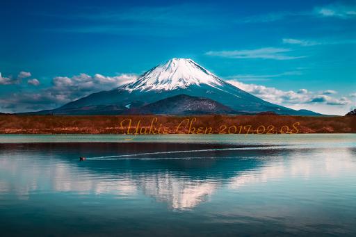 富士山倒影,逆富士