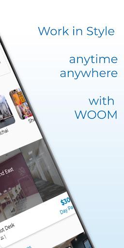 WOOM - دخول الفندق ، غرف الاجتماعات ، لقطات شاشة للمكاتب الساخنة 8