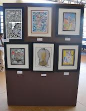 Photo: Exposição de obras dos artistas plásticos Ezio Marcola e Antônio Ailton Rufato, parceiros do Museu Casa de Portinari 3