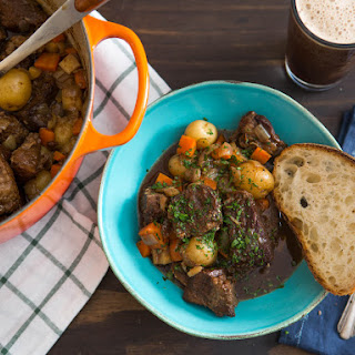 Rich and Flavorful Guinness Beef Stew With Potatoes.