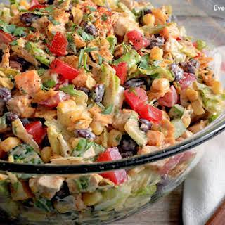 Tex-Mex Chopped Chicken Salad.