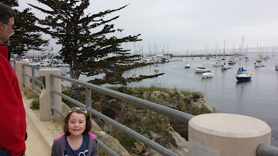 Photo: Walking around the harbor in Monterey