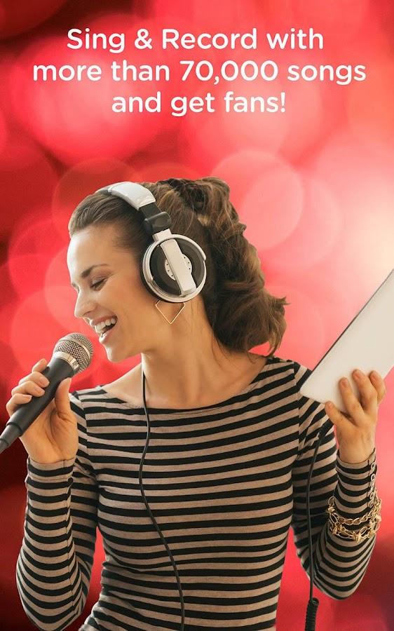 Red Karaoke Sing & Record- screenshot