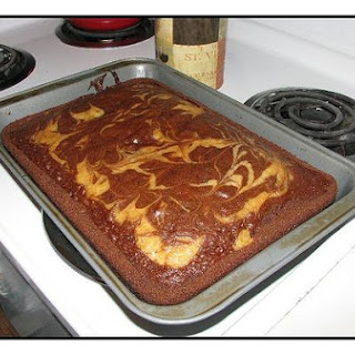 German Chocolate Marble Cake