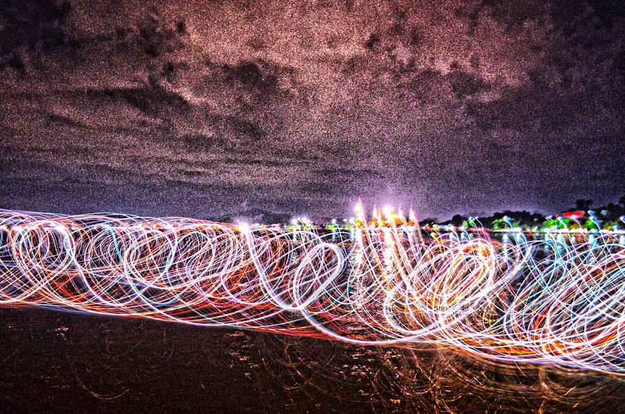 HDR+LIGHT PAINTING by Galih Rakasiwi - Abstract Light Painting