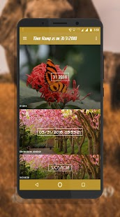 Timestamp camera photos - Auto timestamp on photos Screenshot