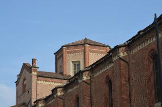 Photo: Il tiburio: si nota una delle brutte finestre aperte nel XVII secolo per dare maggior luce all'interno