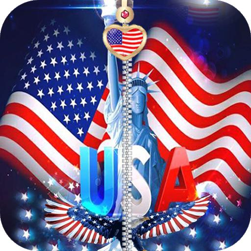 美国国旗屏幕锁定 娛樂 App LOGO-硬是要APP